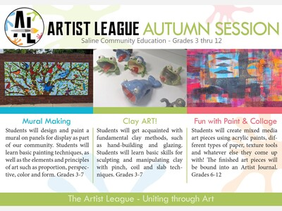 Art Classes Offered Through Saline Community Education