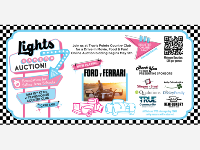 LIGHTS, CAMERA, AUCTION: Foundation for Saline Schools Hosts Drive-In Movie Event May 15