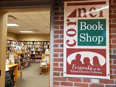 How to Donate Books to the Corner Book Shop at the Saline District Library