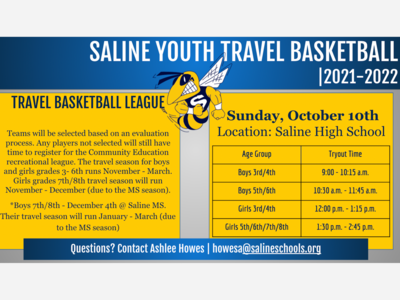 Saline Youth Travel Basketball