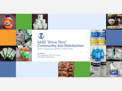 Saline Area Social Service Hosts Community Aid Distribution Event July 28