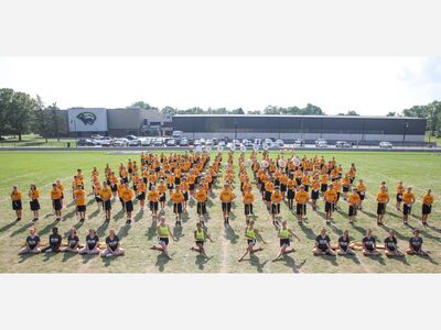 BAND PREVIEW: 167-Strong, The Saline Marching Band's Theme This Year is 'Dance Show'