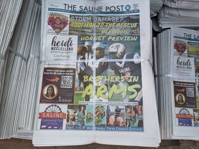 Well, That Was Quick: The Saline Post Newspaper Discontinued