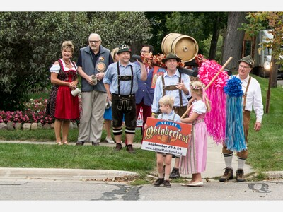 Oktoberfest Begins Friday in Downtown Saline With German Beer and Classic Tunes