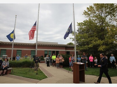 85 Gather for 9/11 Remembrance in Saline