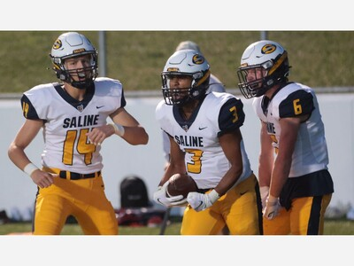 FOOTBALL: CJ Carr Throws 4 TD Passes as Saline Routs Skyline, 53-7