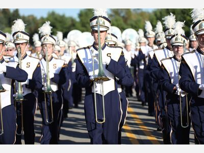Saline High School Marching Band Earns Top Marks at Festival