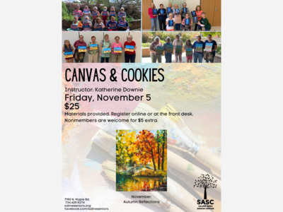 Canvas & Cookies